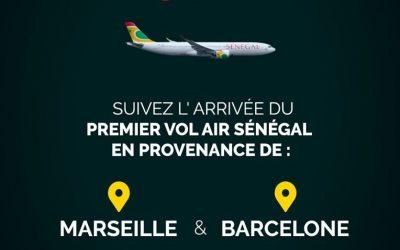 Air Sénégal annonce le lancement de sa ligne Dakar – Marseille – Barcelone